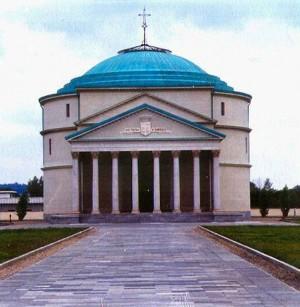 Pantheon di Mirafiori, Mausoleo della Bela Rosin