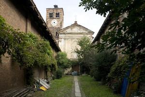 Cortile interno dell'Abbadia di Stura. Fotografia di Marco Saroldi, 2010. © MuseoTorino.