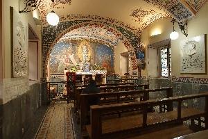 Valdocco. Cappella Pinardi, interno. Fotografia di Ravani&Ficarra per Associazione Volarte.