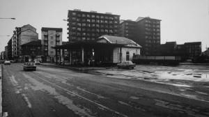 Ex ufficio del Dazio, parcheggio e giardinetto. Archivio Storico della Città di Torino (coll.A14_024, collezione Bubbio)