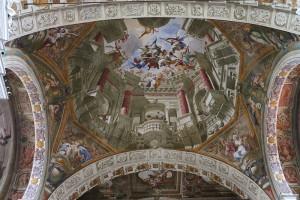 Andrea Pozzo (1642-1709), Gloria di san Francesco Saverio, 1667-1677, Chiesa si San Francesco Saverio (Mondovì).
