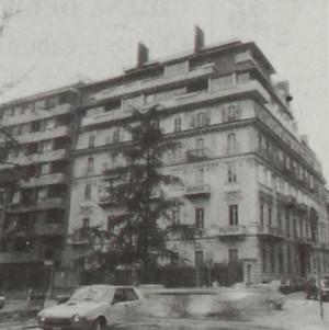 Sopraelevazione di palazzo d'abitazione del primo Novecento