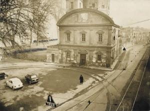 Chiesa della Madonna del Pilone. Fotografia del 1958 © Archivio Storico della Città Torino (GDP sez I 1426E_002)