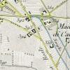 Cascina Casa Gilardoni Sondrio.Antonio Rabbini , Topografia della Città e Territorio di Torino, 1840, © Archivio Storico della Città di Torino