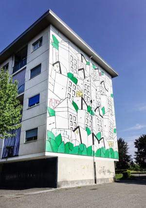 XEL, Una storia di periferia,progetto Outskirt Stories - Storie di Periferia, 2016,via delle Querce 67. Fotografia di Roberto Cortese, 2017 © Archivio Storico della Città di Torino