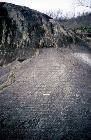 Le rocce montonate in località Pietra Piana ad Avigliana