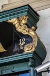 Ferramenta Ghione, particolare decorativo dell'insegna, 2017 © Archivio Storico della Città di Torino