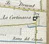 Cascina Continassa. Topografia della Città di Torino, 1840. © Archivio Storico della Città di Torino