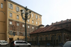 Ciò che resta del complesso dell'Accademia. Fotografia di Enrico Lusso per MuseoTorino.