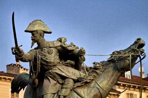 Alfonso Balzico, Monumento a Ferdinando di Savoia duca di Genova (3), 1866-1877. Fotografia di Mattia Boero, 2010. © MuseoTorino.