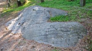 Le rocce montonate con coppelle presso il Castello di Avigliana