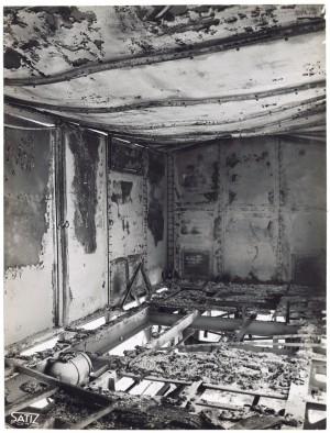 Via Rivalta 61. Stabilimento FIAT - Sezione Materiale Ferroviario. Effetti prodotti dal bombardamento dell'incursione aerea del 20-21 novembre 1942. UPA 2065_9B05-16. © Archivio Storico della Città di Torino