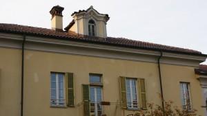 Particolare della casa padronale della cascina Giajone. Fotografia di Edoardo Vigo, 2012.