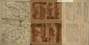Pianta topografica della città di Torino con le linee di trasporto pubblico, 1910 circa. Biblioteca civica centrale, Cartografico 3/4.15.02 © Biblioteche civiche torinesi