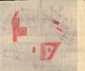 Bombardamenti aerei. Censimento edifici danneggiati o distrutti. ASCT Fondo danni di guerra inv. 1089 cart. 22 fasc. 44. © Archivio Storico della Città di Torino