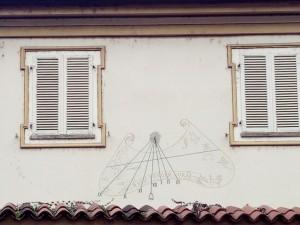 Orologio solare, Villa Sartirana, detta La Tesoriera