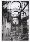 Via Filippo Juvarra n. 19, Ospedale Oftalmico. Effetti prodotti dai bombardamenti dell'incursione aerea del 9 dicembre 1942. UPA 3081_9D03-33. © Archivio Storico della Città di Torino