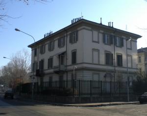 Case per necrofori del Cimitero generale, via Buscalioni 15, 17, 21