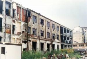 Ex Ceat, via Leoncavallo 25. Fotografia di Cristina Godone, 1997