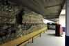 I resti delle mura romane all'interno del parcheggio sotterraneo di piazza Emanuele Filiberto (2). Fotografia di Paolo Gonella, 2010. © MuseoTorino.