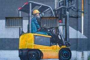 MKE, murale senza titolo, 2012, via Massari 127