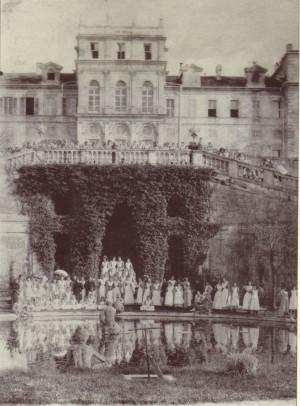 Istituto nazionale per le figlie dei militari italiani, Sezione classica, Villa della Regina