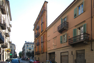 Alessandro Antonelli, Casa Scaccabarozzi (Fetta di Polenta, scorcio), 1840-1881. Fotografia di Fabrizia Di Rovasenda, 2010. © MuseoTorino.