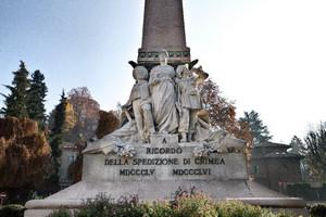 Luigi Belli, Monumento alla spedizione di Crimea (particolare), 1888. Fotografia di Mattia Boero, 2010. © Museo