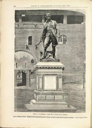 Giuseppe Cassano (1825-1905), Monumento a Pietro Micca, da