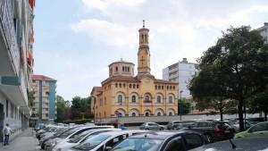 Chiesa del Convento della Visitazione. Fotografia di Luca Davico, 2015
