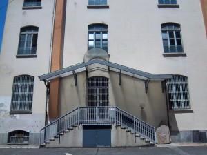 Ex fabbrica Boero, post 1956. Lato via Stradella. Particolare. Fotografia L&M, 2011.