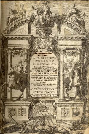 Trattato di Francesco Tensini edito a Venezia nel 1630. Immagine tratta da depliant pubblicato dal CeSRAMP