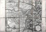 Pianta topografica della città di Torino e dei dintorni, durante l'assedio del 1706