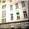 Scuola elementare Gabelli. Particolare della facciata principale con intitolazione. © Archivio della scuola