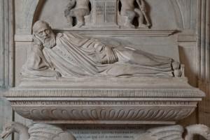 Chiesa di Sant'Agostino, monumento funebre a Cassiano dal Pozzo. Fotografia Studio fotografico Gonella, 2013. © MuseoTorino / Chiesa di Sant'Agostino