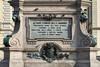 Stanislao Grimaldi, Monumento ad Alfonso Ferrero della Marmora (iscrizione), 1881-1891. Fotografia di Mattia Boero, 2010. © MuseoTorino.