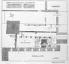 Planimetria della chiesa del Salvatore scoperta nel 1909; da P.Toesca 1910.