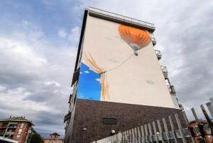 MKE, murale senza titolo, 2015, via Luini