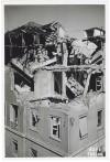 Via Vittorio Alfieri 10 angolo Via dell'Arsenale, Regie Poste. Effetti prodotti dai bombardamenti dell'incursione aerea del 13 luglio 1943. UPA 3612_9D06-57. © Archivio Storico della Città di Torino/Archivio Storico Vigili del Fuoco