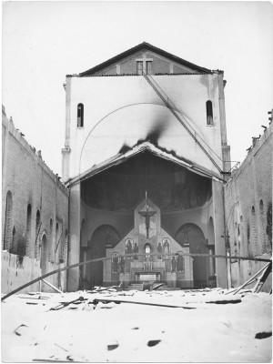 Danni di guerra: gli edifici religiosi