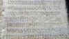 Lastra del monumento funebre di L. Tettienus Vitalis dalla Galleria di Carlo Emanuele (3). Museo di Antichità. Fotografia di Plinio Martelli, 2010. © Soprintendenza per i Beni Archeologici del Piemonte e del Museo Antichità Egizie.