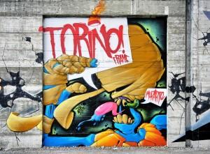 Scaone, Progetto MurArte 2018, La nostra città, via Nino Oxilia. Fotografia di Roberto Cortese, 2018 © Archivio Storico della Città di Torino