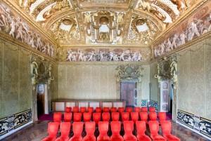 Castello del Valentino, Stanza dei Gigli (da http://castellodelvalentino.polito.it/)