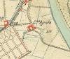 Cascina Airale. Istituto Geografico Militare, Pianta di Torino e dintorni, 1911. © Archivio Storico della Città di Torino
