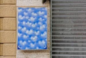 Antonio Carena, Senza titolo, 2008, via Locana 29, MAU Museo Arte Urbana. Fotografia di Roberto Cortese, 2017 © Archivio Storico della Città di Torino