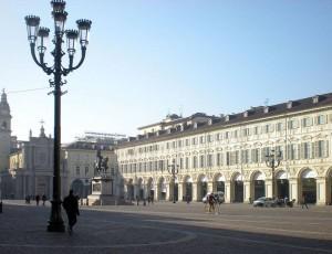 Piazza San Carlo. Fotografia di Angela Caterini, 2015