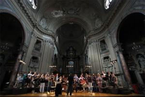 Abside della Chiesa di San Filippo Neri. Fotografia di Gianluca Platania, 2010. © MITO SettembreMusica