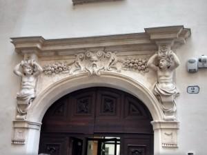 Entrata di Casa Siccardi. Fotografia di Maria Paola Soffiantino, 2016