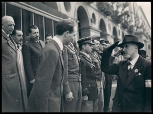 Franco Antonicelli. Manifestazione del 6 maggio 1945. Archivio Istoreto. © Istoreto