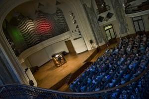 Sala dei concerti del Conservatorio Giuseppe Verdi. Fotografia di Lorenzo Mascherpa, 2011. © MITO SettembreMusica